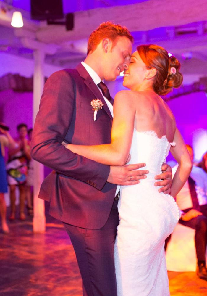 Danse des mariés portrait