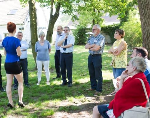 Teambuilding au jardin